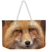 Russian Red Fox Weekender Tote Bag