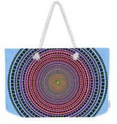 Vintage Multicolor Circle Weekender Tote Bag