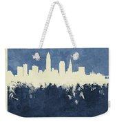 Cleveland Ohio Skyline Weekender Tote Bag