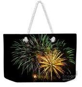 Firework Display Weekender Tote Bag