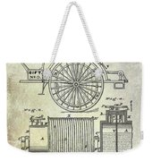 1873 Fire Extinguisgers Patent Weekender Tote Bag