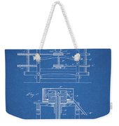 1885 Grist Mill Patent Weekender Tote Bag