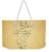 1885 Plow Patent Weekender Tote Bag