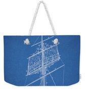 1885 Sails Patent Weekender Tote Bag
