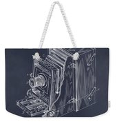 1887 Blair Photographic Camera Blackboard Patent Print Weekender Tote Bag