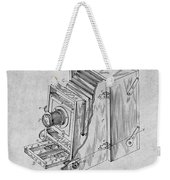 1887 Blair Photographic Camera Gray Patent Print Weekender Tote Bag