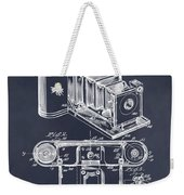 1899 Photographic Camera Patent Print Blackboard Weekender Tote Bag