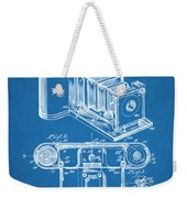 1899 Photographic Camera Patent Print Blueprint Weekender Tote Bag