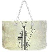 1902 Beer Patent Weekender Tote Bag