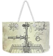 1902 Beer Tapping Device Patent Weekender Tote Bag