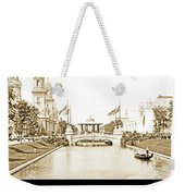 1904 World's Fair Lagoon And Electricity Building Weekender Tote Bag