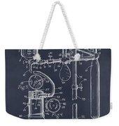 1919 Anesthetic Machine Blackboard Patent Print Weekender Tote Bag