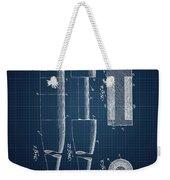 1919 Baseball Bat - Dark Blueprint Weekender Tote Bag