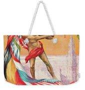 1920 Summer Olympics Vintage Poster Weekender Tote Bag