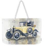 1925 Citroen 5cv Weekender Tote Bag