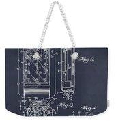 1931 Self Winding Watch Patent Print Blackboard Weekender Tote Bag
