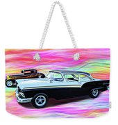 1932 And 1957 Fords Weekender Tote Bag