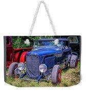 1932 Ford Highboy Hot Rod Roadster Weekender Tote Bag