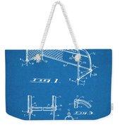 1933 Soccer Goal Blueprint Patent Print Weekender Tote Bag