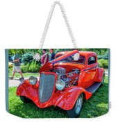 1934 Ford 3 Window Coupe Hot Rod Weekender Tote Bag