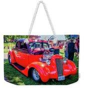 1935 Dodge Coupe Hot Rod Gasser Weekender Tote Bag