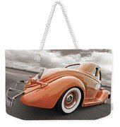 1935 Ford Coupe In Bronze Weekender Tote Bag