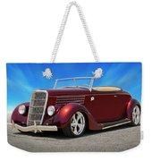 1935 Ford Roadster Weekender Tote Bag