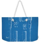 1935 Phillips Screw Driver Blueprint Patent Print Weekender Tote Bag