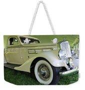 1935 Pierce Arrow Weekender Tote Bag