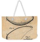 1936 Reach Football Antique Paper Patent Print Weekender Tote Bag