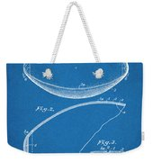 1936 Reach Football Blueprint Patent Print Weekender Tote Bag