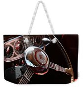 1937 Vintage Model 1508 Steering Wheel Weekender Tote Bag