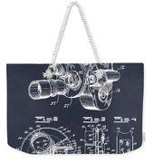 1938 Bell And Howell Movie Camera Patent Print Blackboard Weekender Tote Bag