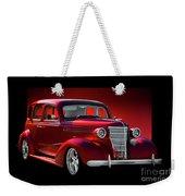 1938 Chevrolet Master Deluxe Sedan Weekender Tote Bag