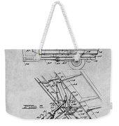 1939 Dump Truck Gray Patent Print Weekender Tote Bag