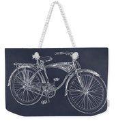 1939 Schwinn Bicycle Blackboard Patent Print Weekender Tote Bag