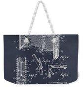 1947 Hockey Goal Patent Print Blackboard Weekender Tote Bag