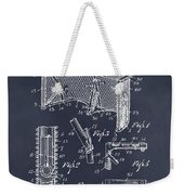 1947 Hockey Goal Patent Print Blackboard Weekender Tote Bag