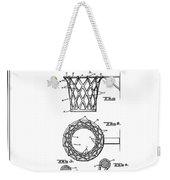 1951 Basketball Goal - Black Retro Style Weekender Tote Bag