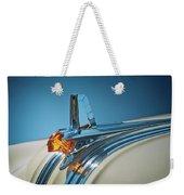 1953 Pontiac Hood Ornament Weekender Tote Bag