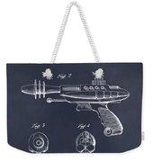 1953 Ray Gun Toy Pistol Blackboard Patent Print Weekender Tote Bag