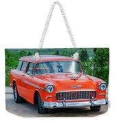 1955 Chevrolet Bel Air Nomad Weekender Tote Bag