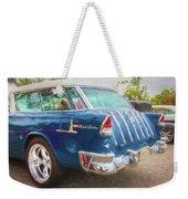 1955 Chevrolet Bel Air Nomad Station Wagon 228 Weekender Tote Bag