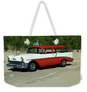 1956 Chevrolet Handyman Station Wagon  Weekender Tote Bag