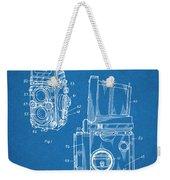 1960 Rolleiflex Photographic Camera Blueprint Patent Print Weekender Tote Bag