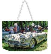 1961 Chevrolet Corvette 002 Weekender Tote Bag