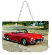 1962 Corvette Roadster Custom Weekender Tote Bag