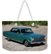 1963 Chevrolet Nova Ss Weekender Tote Bag