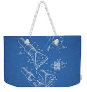 1964 Salon Suction Patent Weekender Tote Bag