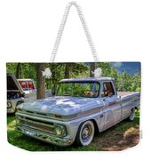 1966 Chevrolet C10 Pickup Truck Weekender Tote Bag